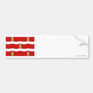 Deux-Sèvres flag Bumper Sticker