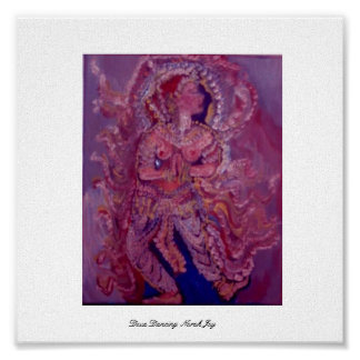 Deva Dancing in Rose Print
