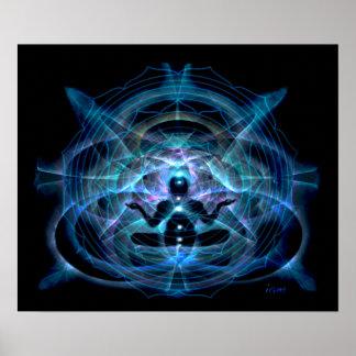 deva meditation print