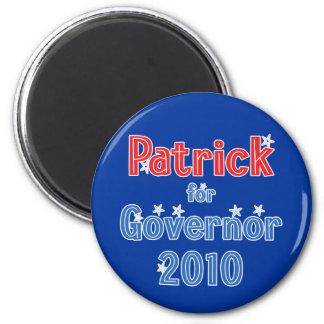 Deval Patrick for Governor 2010 Star Design Magnet