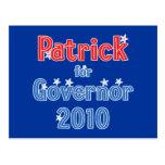 Deval Patrick para el diseño de la estrella del go Postal