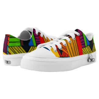 Devante's Afrocentric Low-Top Sneakers