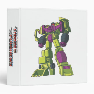 Devastator 1 3 ring binder