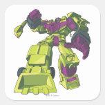 Devastator 3 square stickers