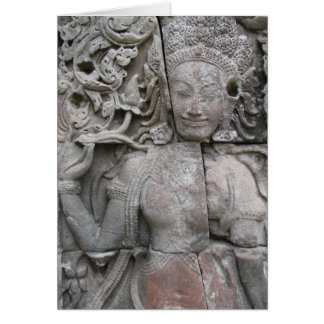 Devata from The Bayon Card