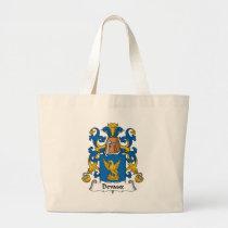 Devaux Family Crest Bag