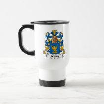 Devaux Family Crest Mug