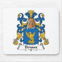 Devaux Family Crest Mousepad