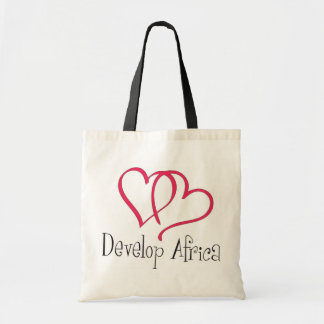 Develop Africa Hearts Budget Tote Bag