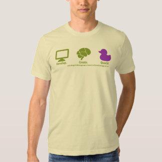 Develop Create Quack T Shirt