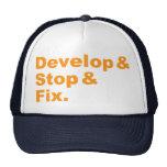 Develop & Stop & Fix Hat
