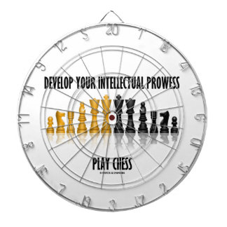Develop Your Intellectual Prowess Play Chess Dart Board