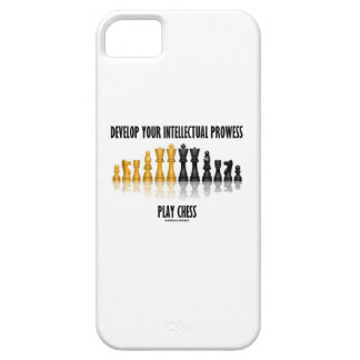 Develop Your Intellectual Prowess Play Chess iPhone SE/5/5s Case