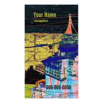 developer, architect, designer business card