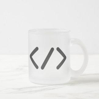 Developer (+Black/symbol) Frosted mug