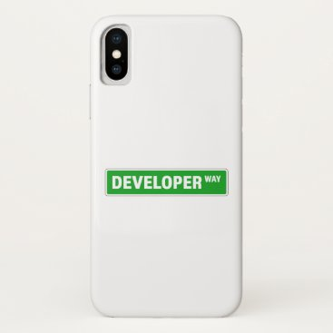 Developer iPhone X Case