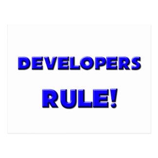 Developers Rule! Postcards