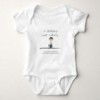 Developing maturity baby bodysuit