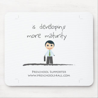 Developing maturity mouse pads