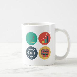 Development of Exponential Growth Icons Coffee Mug