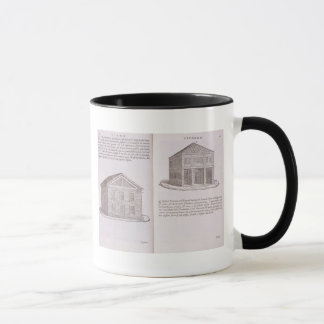 Development of Housing, from 'Della Architettura', Mug