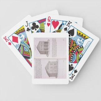 Development of Housing, from 'Della Architettura', Poker Cards