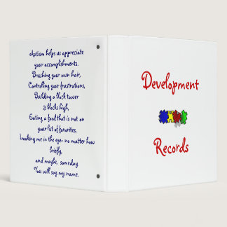 Development Records Binder