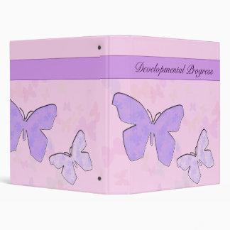 Developmental progress Binder Pastel Puzzleflies
