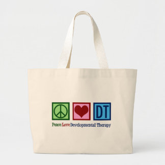 Developmental Therapy Large Tote Bag