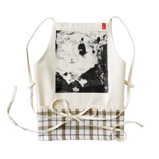 devestation masks zazzle HEART apron