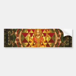 Devi Lakshmi Stotram- Shri Yantra Bumper Sticker