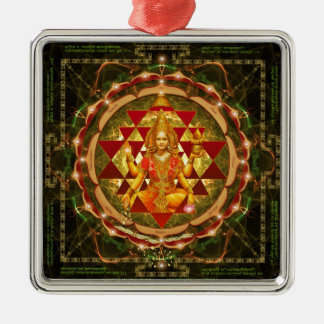 Devi Lakshmi Stotram- Shri Yantra Ornamente De Reyes