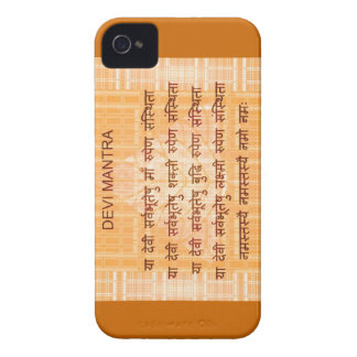 DEVI Mantra - Ancient Sanskrt Hindi Hinduism Case-Mate iPhone 4 Case