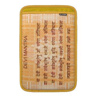 DEVI Mantra - Ancient Sanskrt Hindi Hinduism Sleeve For MacBook Air