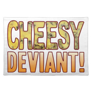 Deviant Blue Cheesy Placemat