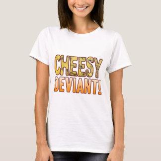 Deviant Blue Cheesy T-Shirt