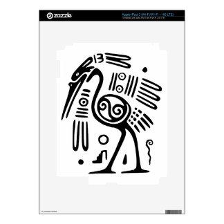 Device Protective Skin With Mayan Bird Design iPad 3 Decal