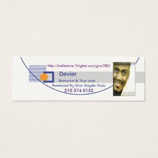 Devier Profile Card