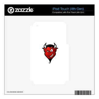 Devil #2 decals for iPod touch 4G
