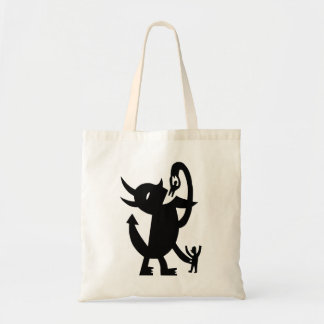 Devil And Two Friends Budget Tote Bag