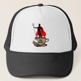 Devil anti tea party trucker hat