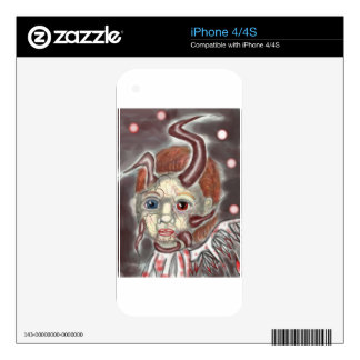 devil boy decals for iPhone 4