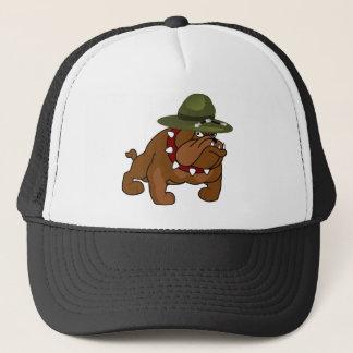Devil Bull Dog Full Body (Add Your Own Text) Trucker Hat