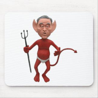 devil bush 01 mouse pad