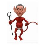devil bush 01 postcard