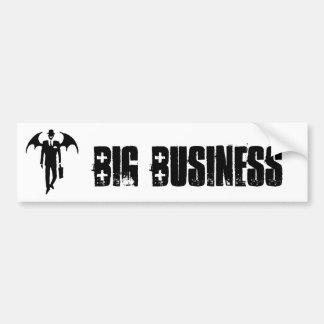 devil businessman bumper sticker