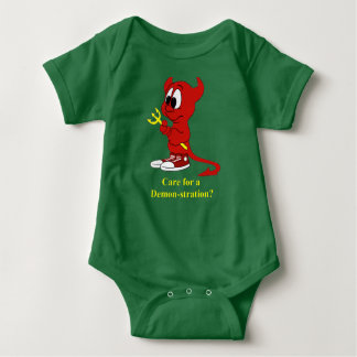 Devil Care for a DEMONstraton? Baby Bodysuit