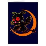 Devil cat グリーティングカード