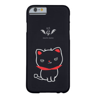Devil Cat Nikolas Classic Barely There iPhone 6 Case