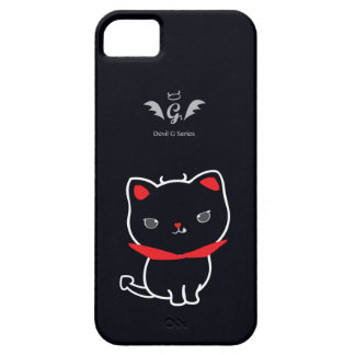 Devil Cat Nikolas Classic iPhone SE/5/5s Case